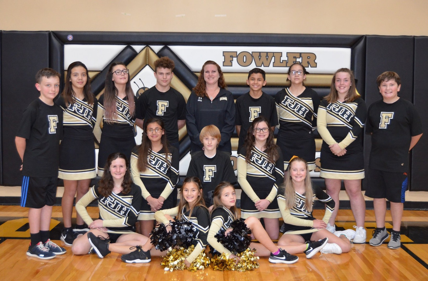 JH Cheer 2018 Group